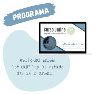 Programa Curso Ecografía en Críticos Ecocritic